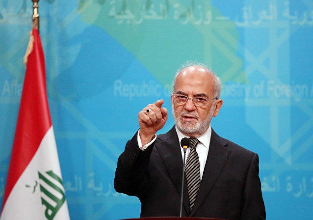Le ministre irakien des Affaires étrangère, Ibrahim al-Jaafari