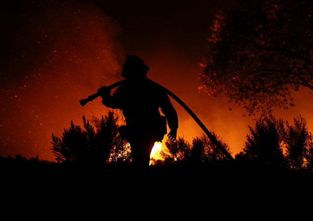 incendie en Californie