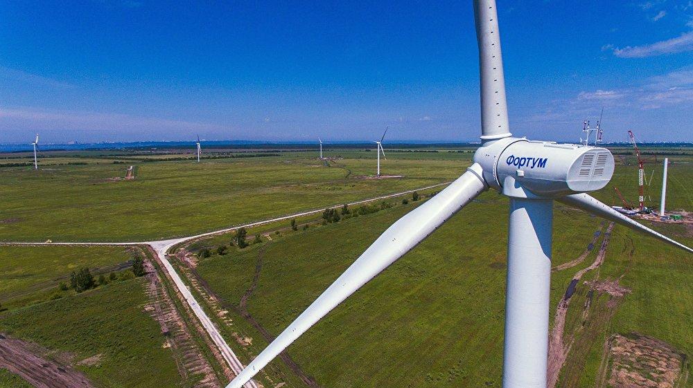 Un éolien près d'Ulyanovsk