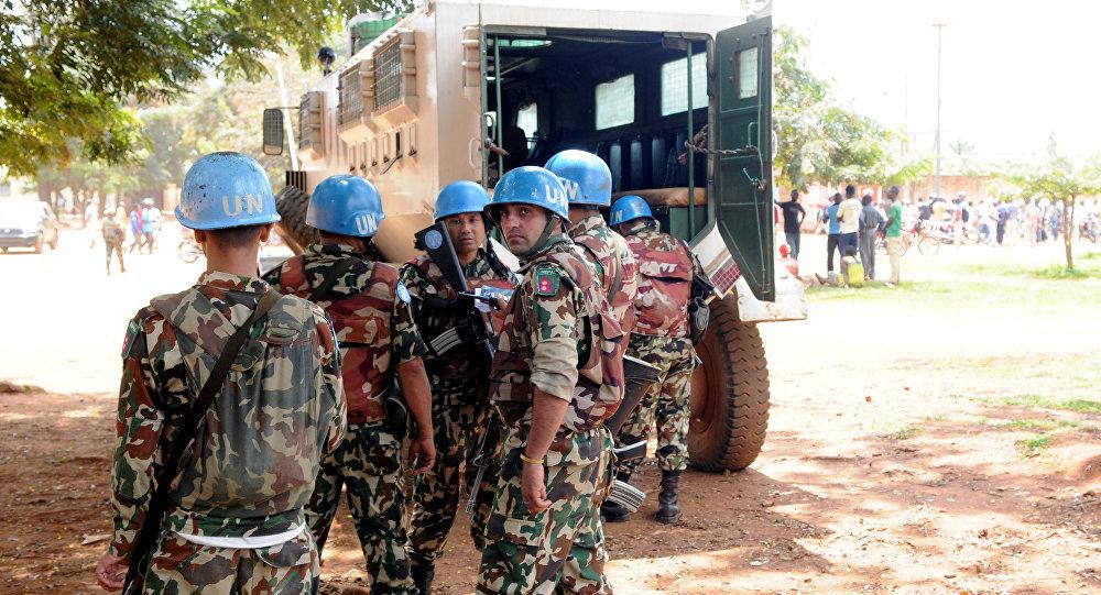 Casques bleus au Congo