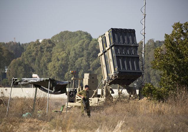La défense anti-aérienne israélienne de Gaza
