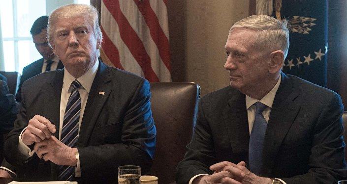 Donald Trump et James Mattis