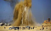 Une frappe israélienne sur une position du Hamas
