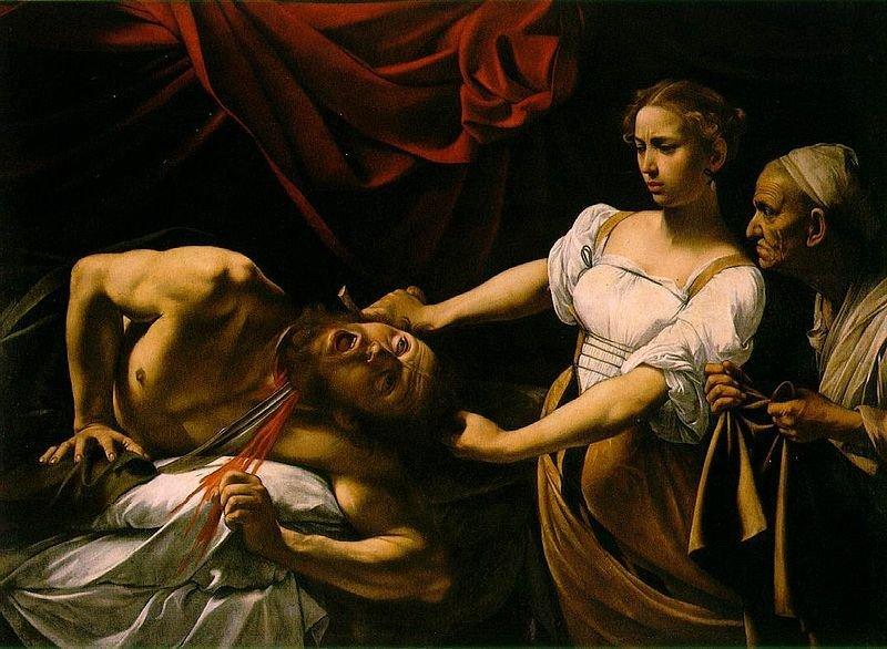 «Judith et Holopherne» du Caravage