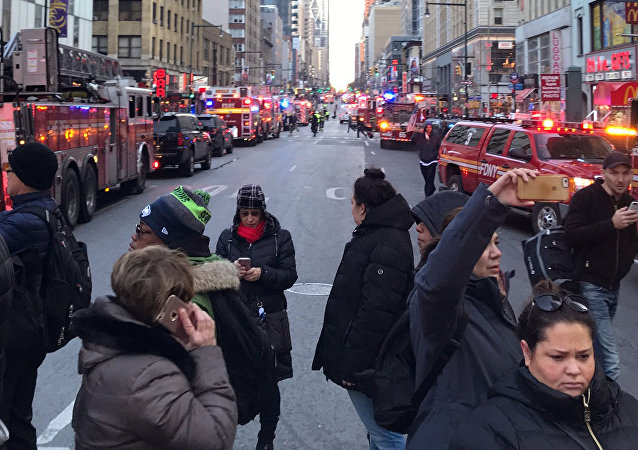 Situation à New York après l'explosion