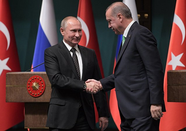 Visite de Vladimir Poutine en Turquie