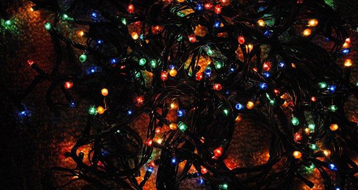 Une guirlande de Noël