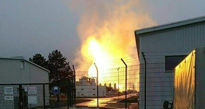 Explosion à Baumgarten