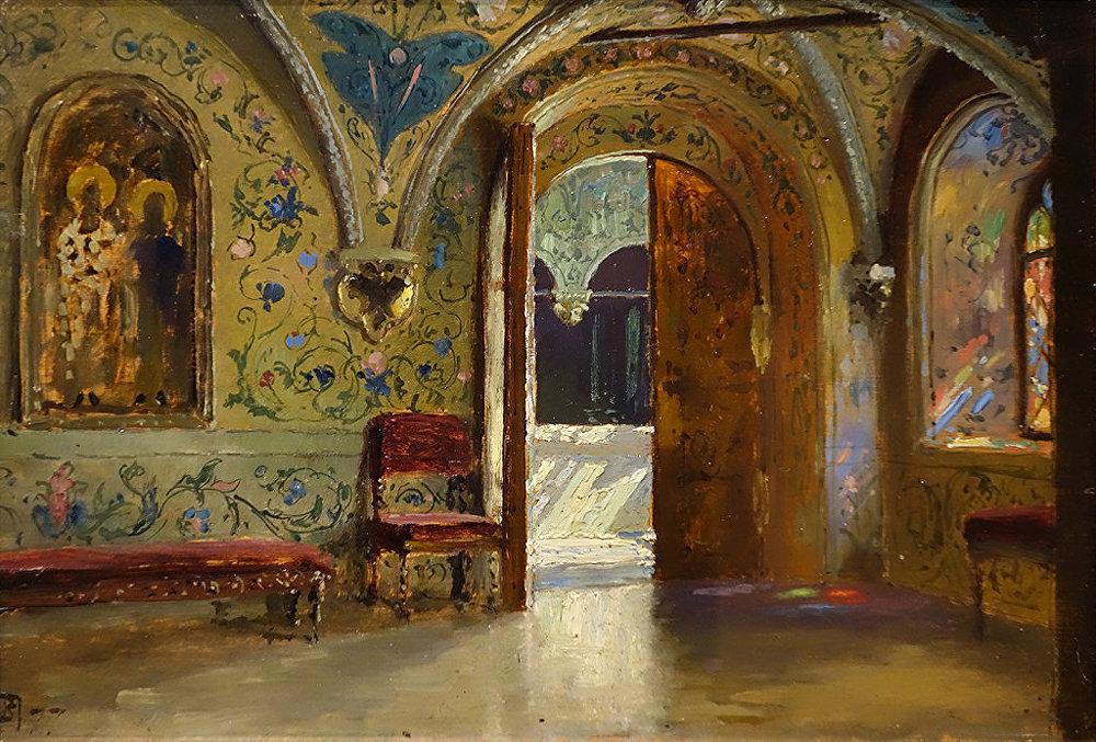 Vassili Polenov. Le palais des Térems. 1877