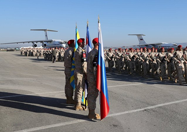 La base aérienne de Hmeimim en Syrie