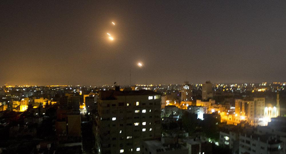 Deux roquettes tirées depuis Gaza vers Israël