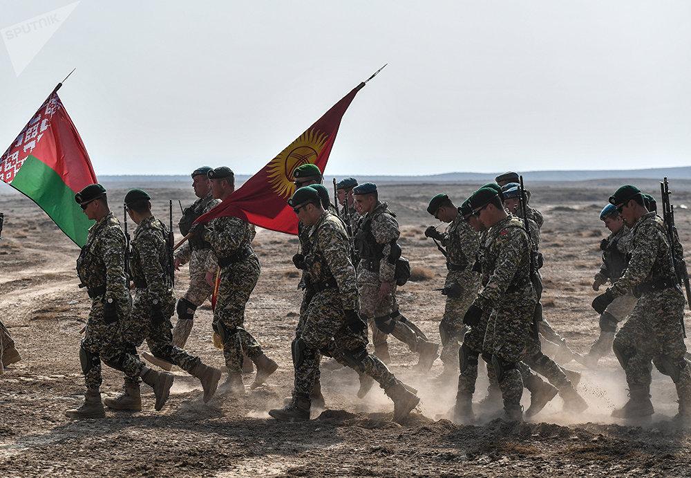Les exercices militaires de l'OTSC au Tadjikistan