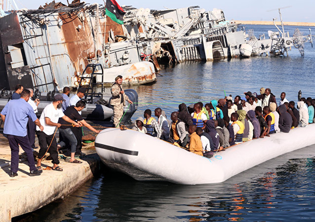 Migrants africains vers l'Europe