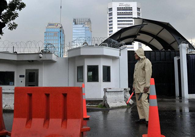L'ambassade US à Jakarta