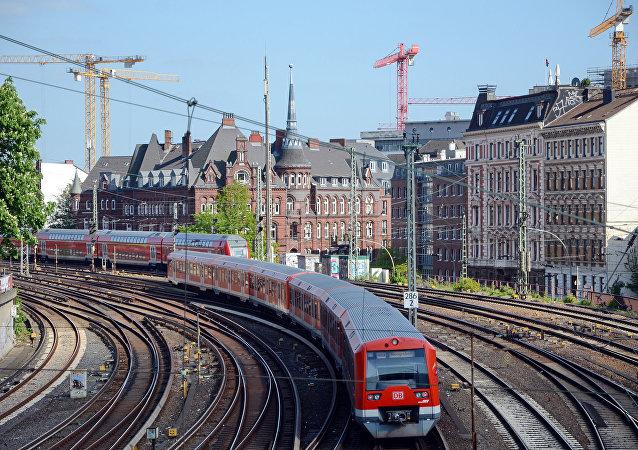 S-Bahn à Hambourg