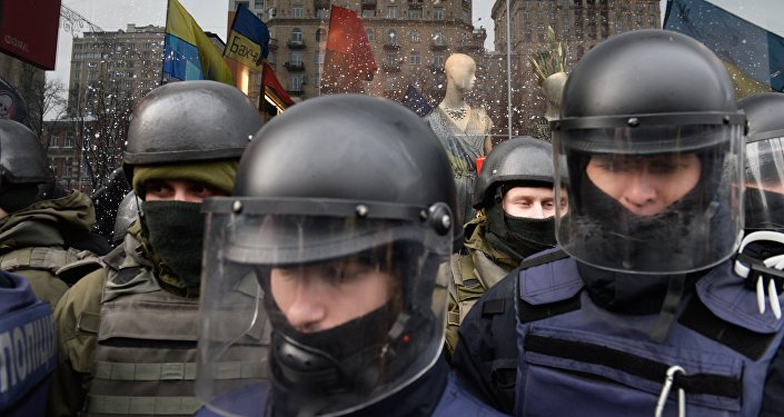Ukraine : des hommes encagoulés capturent l'ancien président géorgien Saakachvili