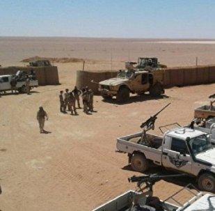 La base américaine d'al-Tanf, Syrie