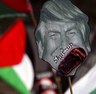 Protestation contre la décision de Trump sur Jérusalem
