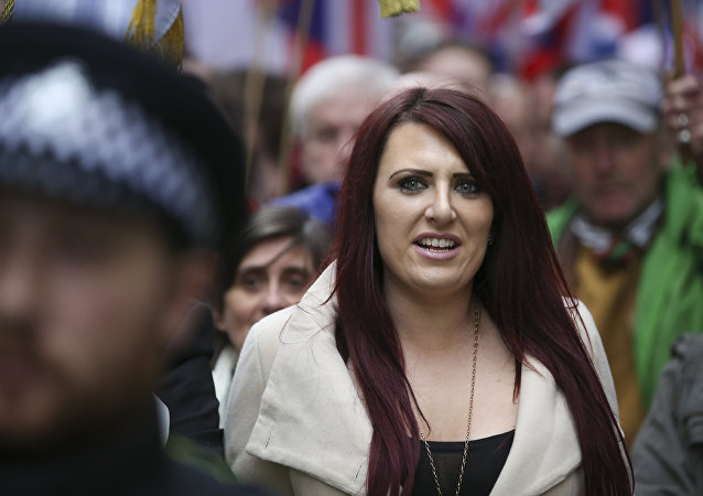 Jayda Fransen de Britain First