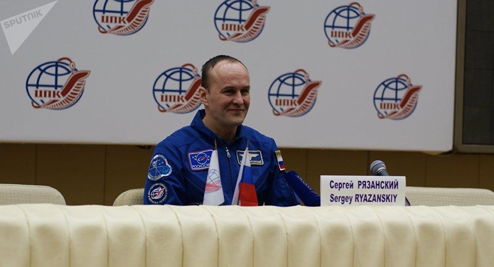cosmonaute russe Sergueï Riazanski