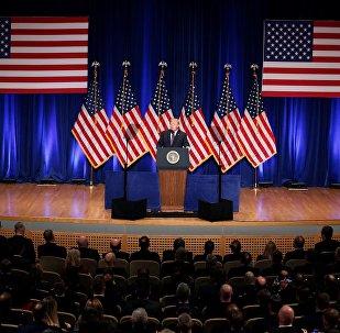 Présentation de la stratégie de sécurité nationale US par Donald Trump