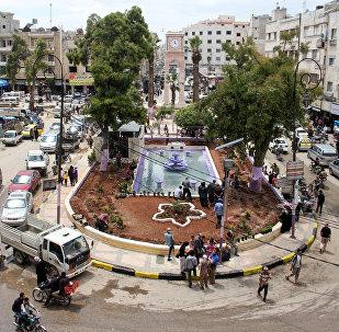 La ville syrienne d'Idlib