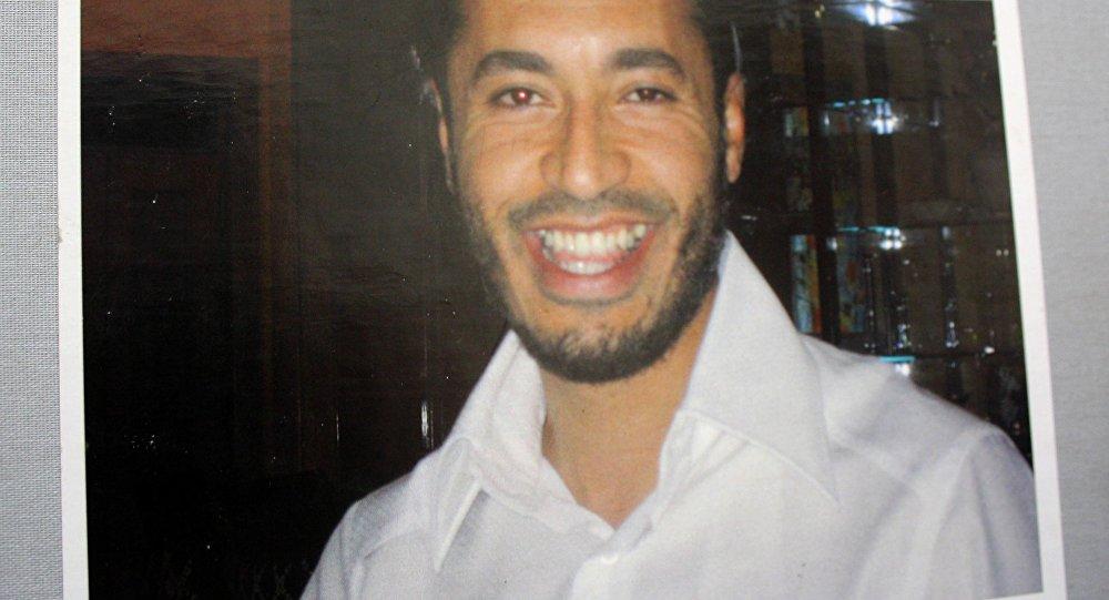 Saadi Kadhafi. Photo d'archive