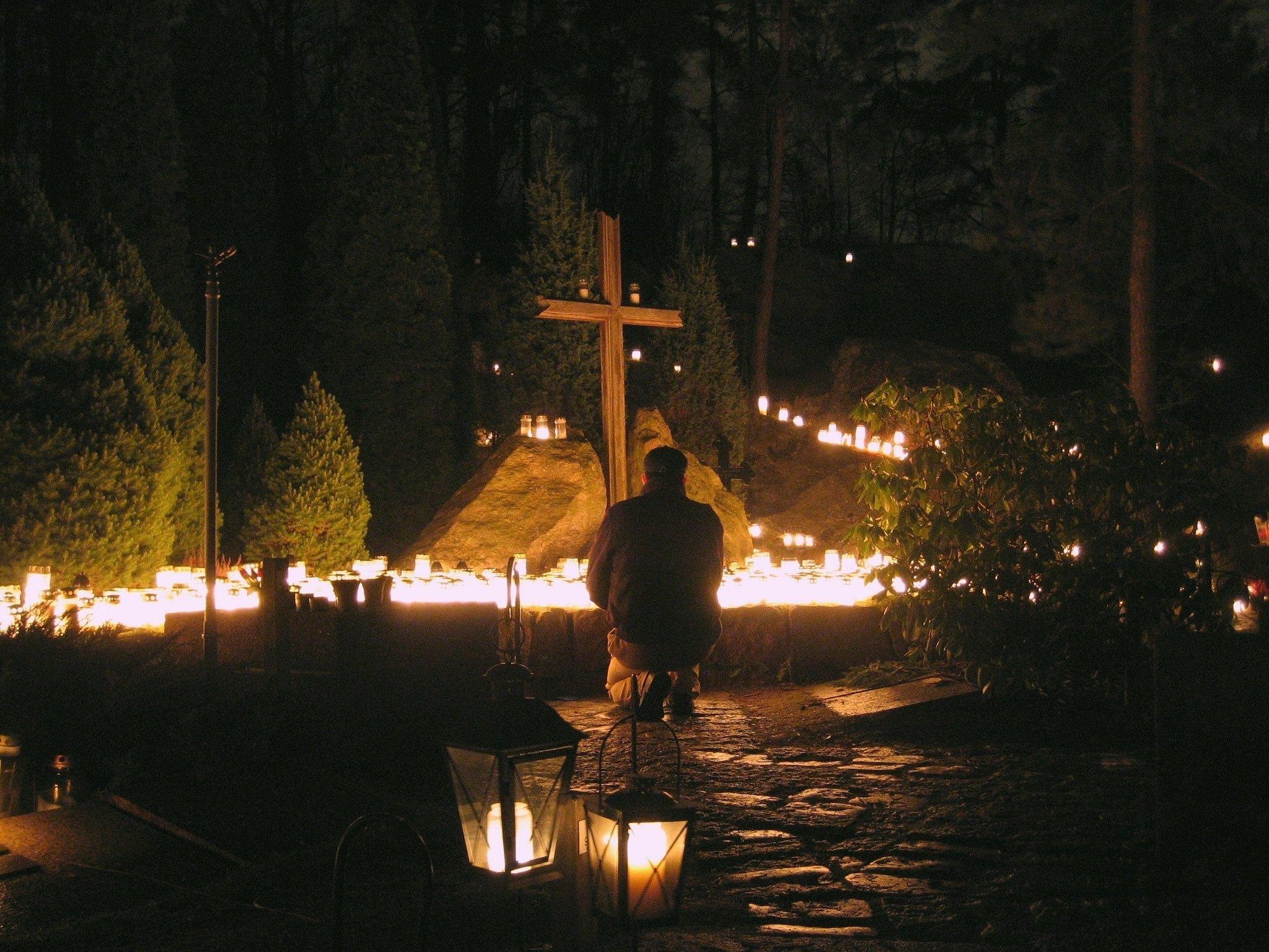 Un cimetière à Helsinki