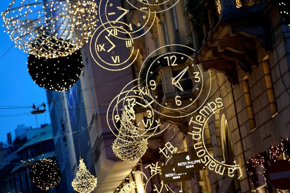 Illuminations de Noël dans les villes du monde