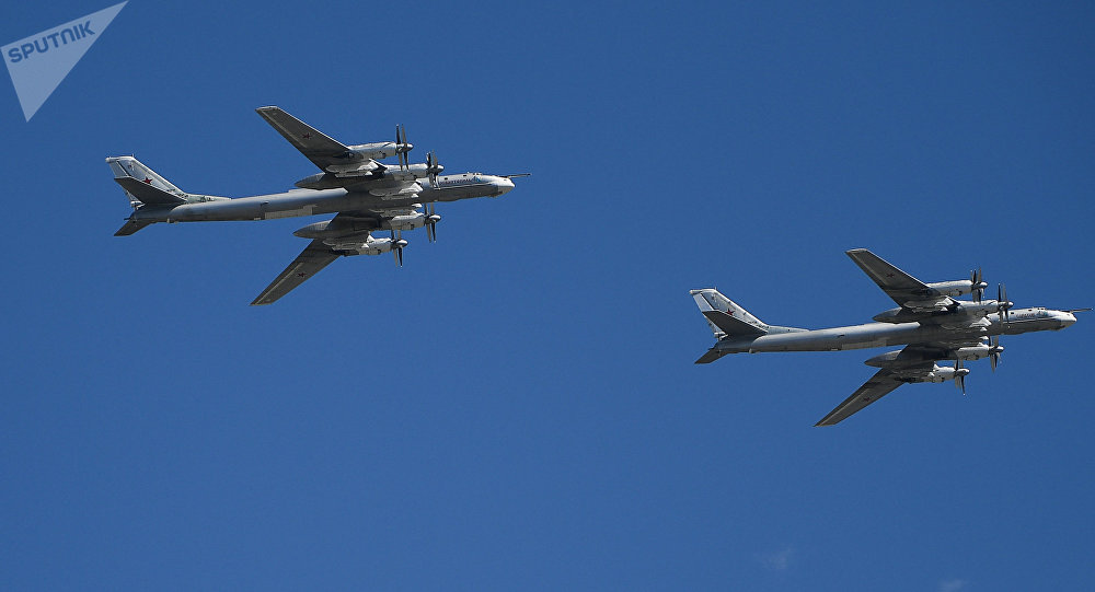 Los bombarderos estratégicos rusos Túpolev Tu-95MS