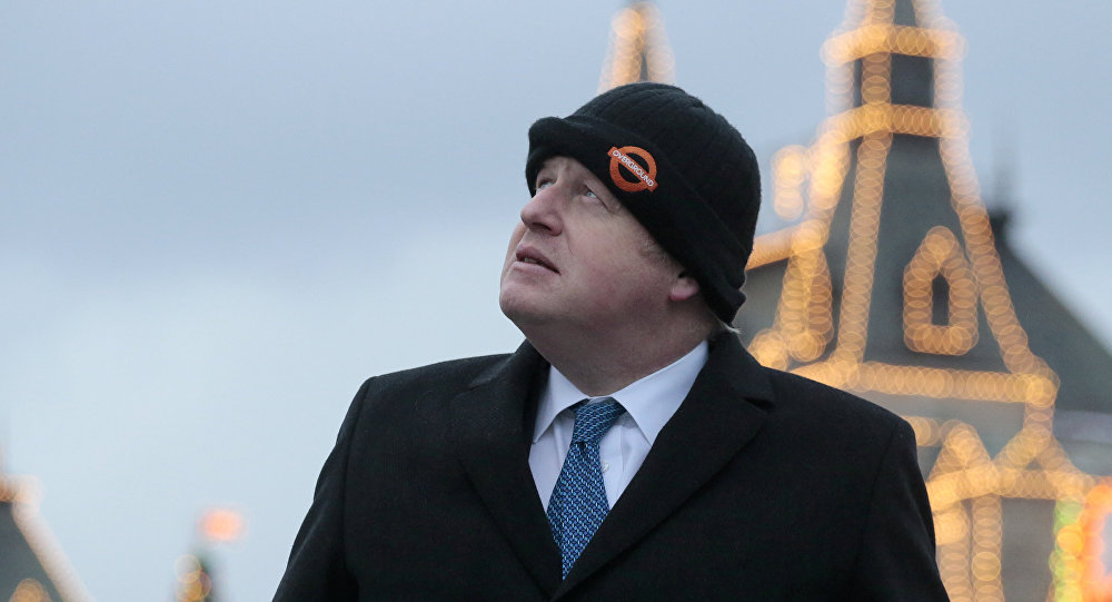 Boris Johnson à Moscou
