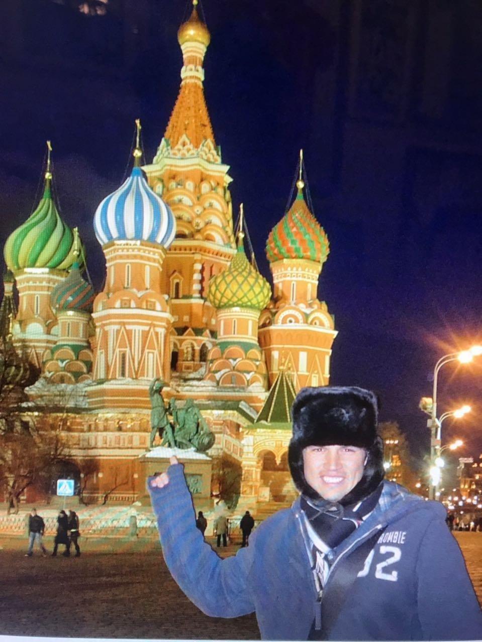 Mark González en Russie