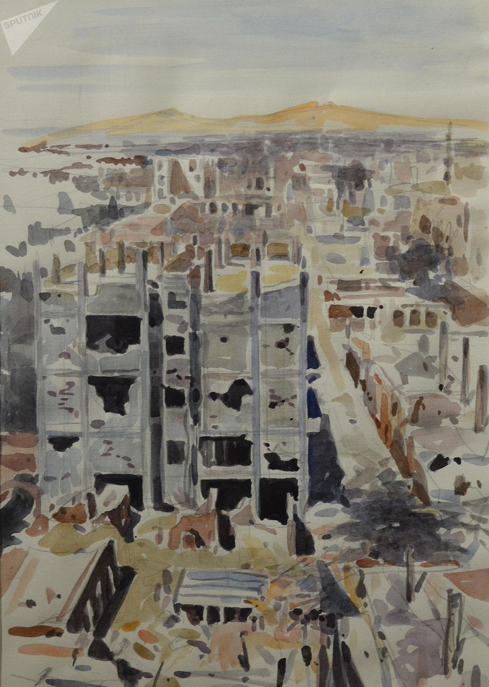 «Stalingrad syrienne» par Vassili Nesterenko