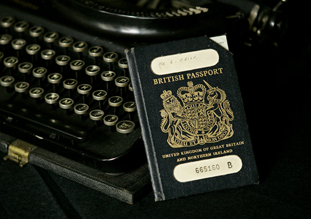 Passeport britannique