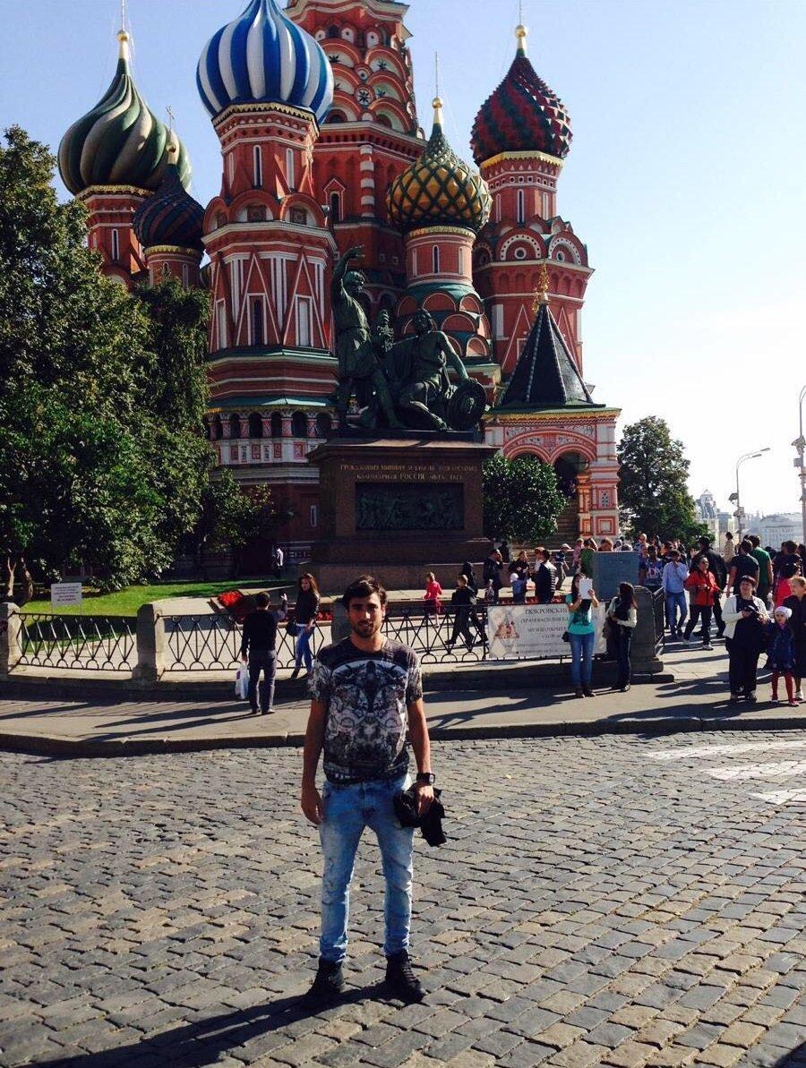 Facundo Piriz à Moscou