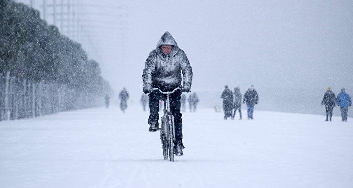 La Floride sous la neige — États-Unis