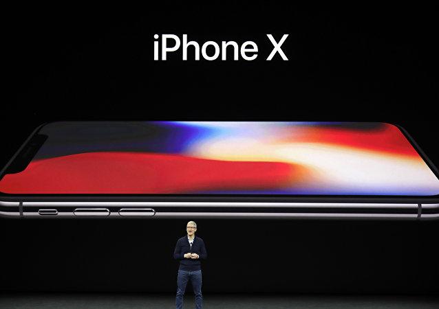 Présentation de l'iPhone X