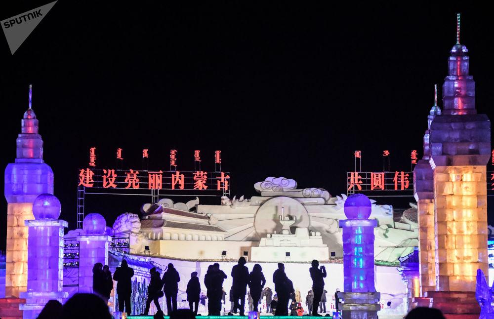 Le Festival international de la glace et de la neige en Mandchourie
