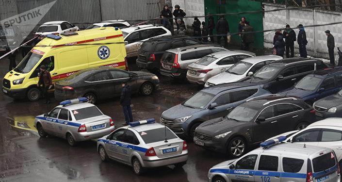 Fusillade à Moscou