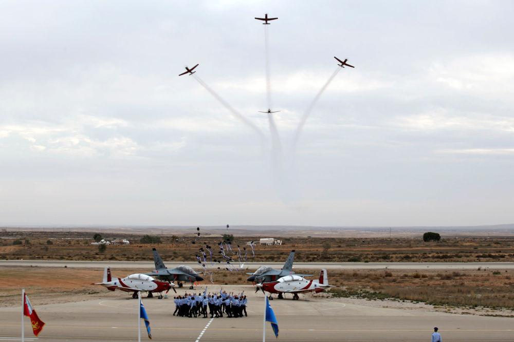 Les nouveaux pilotes de l'Armée de l'air israélienne