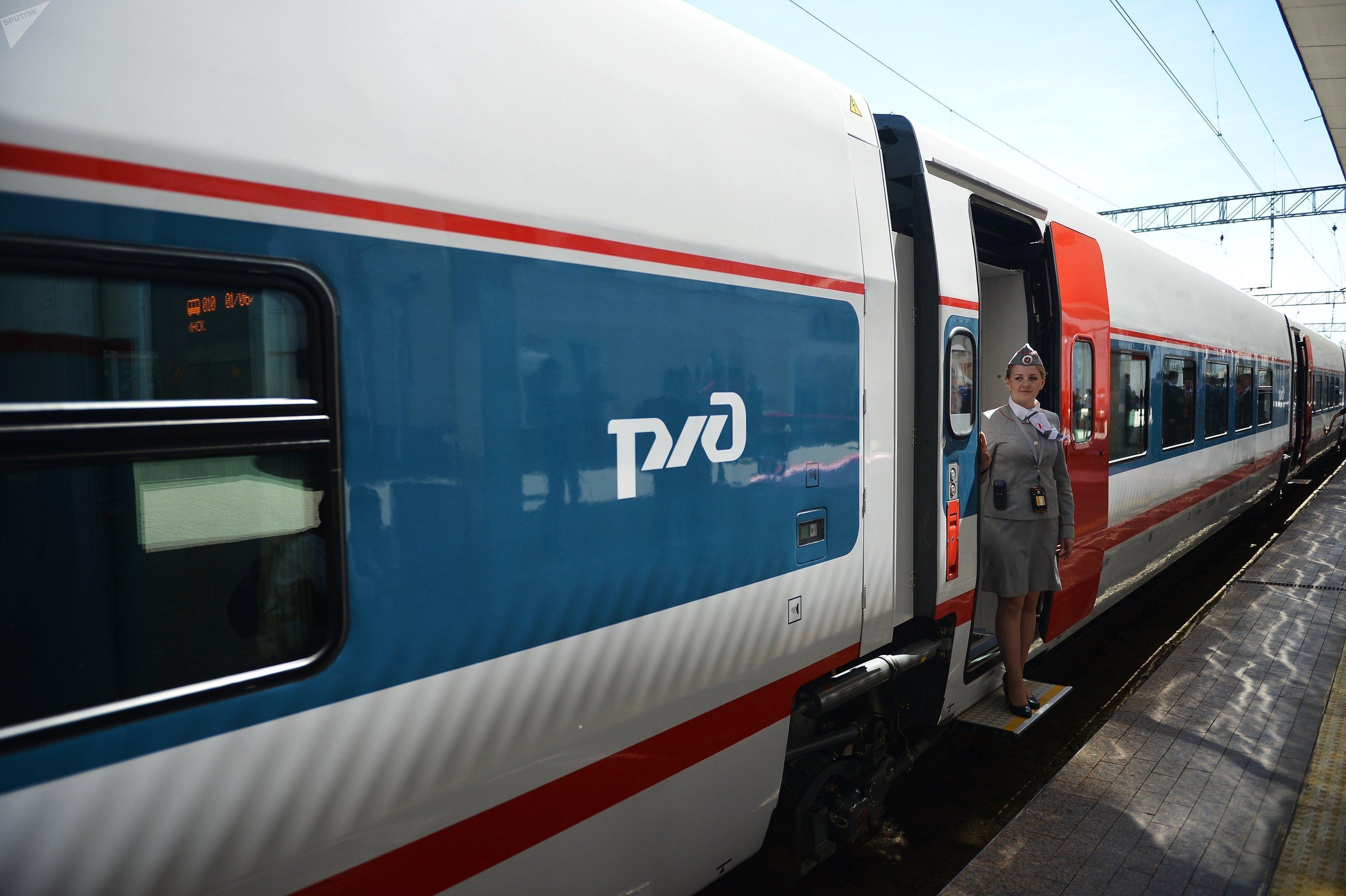 Le train à grande vitesse Berlin-Moscou