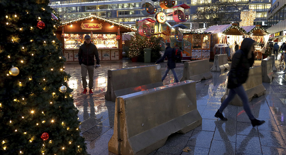 Une zone de sécurité pour les femmes à Berlin — Nouvel An