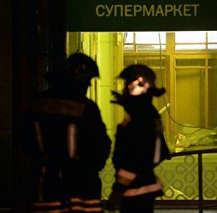 l'attentat dans un supermarché de St-Pétersbourg