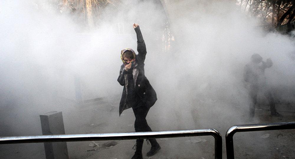 les mouvements de protestation, Iran