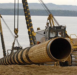 La construction de l'oléoduc «Sibérie orientale-océan Pacifique»