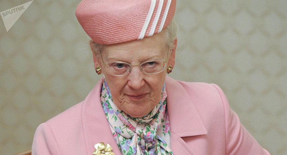 La reine Margrethe II de Danemark