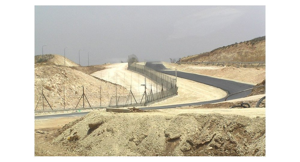 Cisjordanie frontière