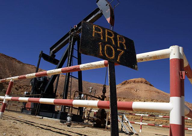 Un gisement de pétrole libyen