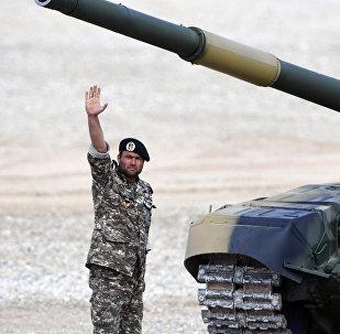 Militaires iraniens. Photo d'archive