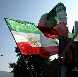 Membres de l'Organisation des moudjahiddines du peuple iranien. Photo d'archive